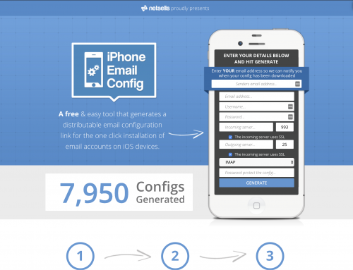 iPhoneConfig.com is a great utility to assist friends or clients